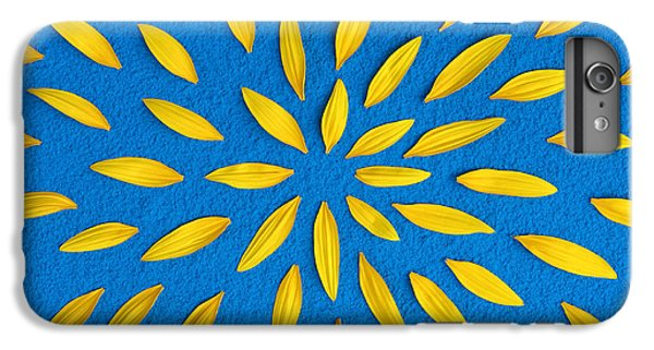 Sunflower iPhone 6s Plus Case - Sunflower Petals Pattern by Tim Gainey