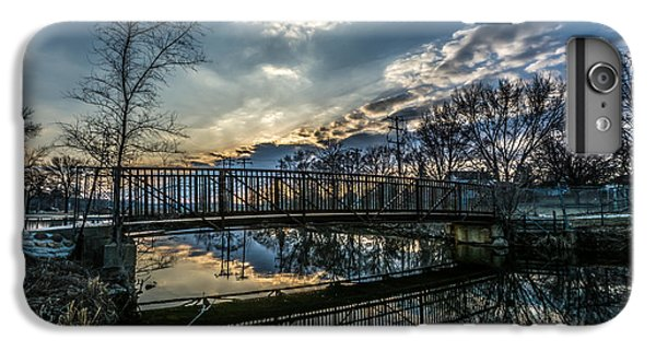 Sunset Bridge 2 IPhone 6s Plus Case by Randy Scherkenbach
