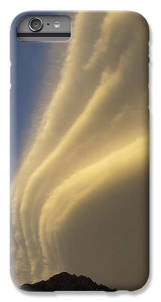 Whitehouse iPhone 6s Plus Case - Sunset On Storm Clouds Near Mt Cook by Ian Whitehouse