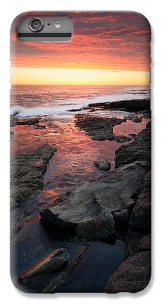 Ocean Sunset iPhone 6s Plus Case - Sunset Over Rocky Coastline by Johan Swanepoel