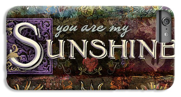 Sunshine IPhone 6s Plus Case by Evie Cook