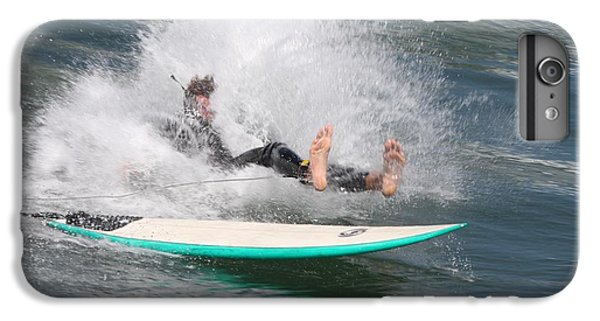 IPhone 6s Plus Case featuring the photograph Surfer Wipeout by Nathan Rupert