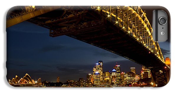 IPhone 6s Plus Case featuring the photograph Sydney Harbour Bridge by Miroslava Jurcik