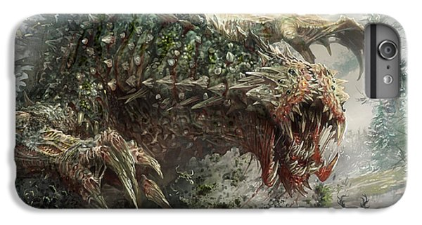 Tarmogoyf Reprint IPhone 6s Plus Case by Ryan Barger