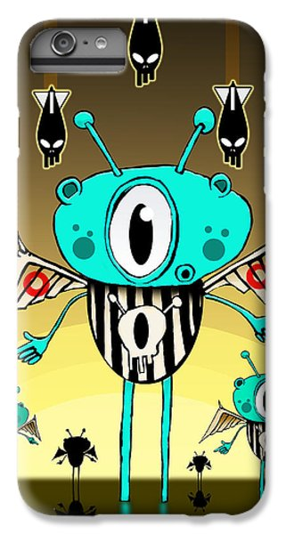 Team Alien IPhone 6s Plus Case by Johan Lilja