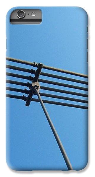 IPhone 6s Plus Case featuring the photograph Tendu Sur Le Ciel by Marc Philippe Joly