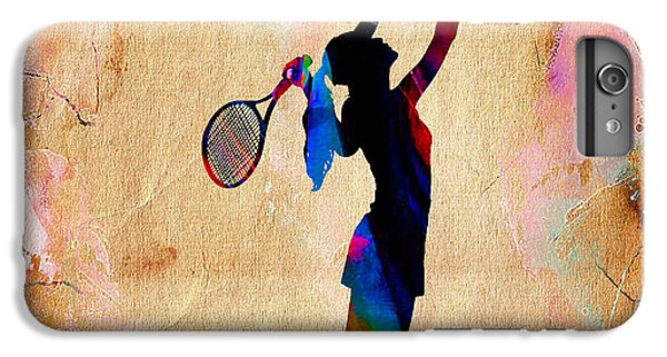 Tennis Match IPhone 6s Plus Case by Marvin Blaine