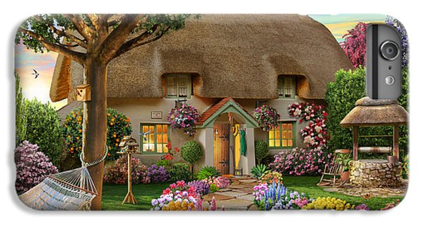 Thatched Cottage IPhone 6s Plus Case