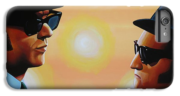 Rhythm And Blues iPhone 6s Plus Case - The Blues Brothers by Paul Meijering