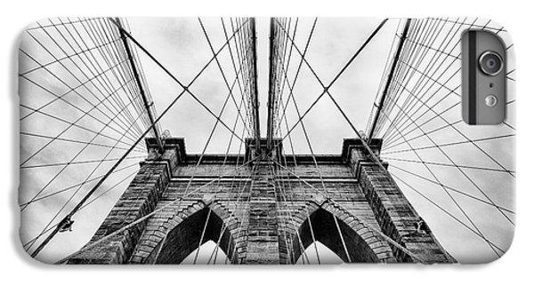 Brooklyn Bridge iPhone 6s Plus Case - The Brooklyn Bridge by John Farnan