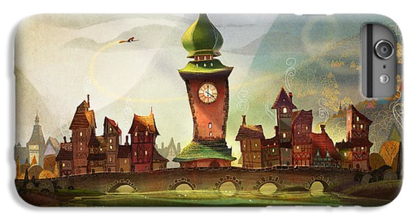 Fairy iPhone 6s Plus Case - The Clock Tower by Kristina Vardazaryan