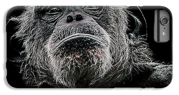 Chimpanzee iPhone 6s Plus Case - The Dictator by Paul Neville