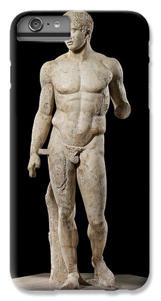 Greece iPhone 6s Plus Case - The Doryphoros Of Polykleitos by Roman School
