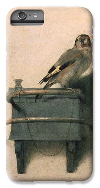Animals iPhone 6s Plus Case - The Goldfinch by Carel Fabritius