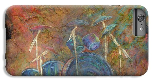 Drum iPhone 6s Plus Case - The Heart Beat  by The Art With A Heart By Charlotte Phillips