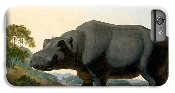 The Hippopotamus, 1804 IPhone 6s Plus Case by Samuel Daniell