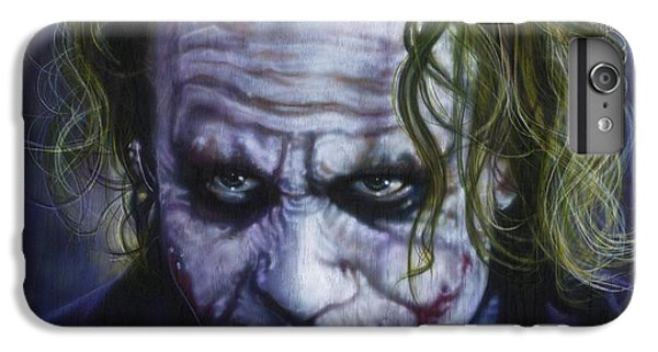 The Joker IPhone 6s Plus Case by Tim  Scoggins