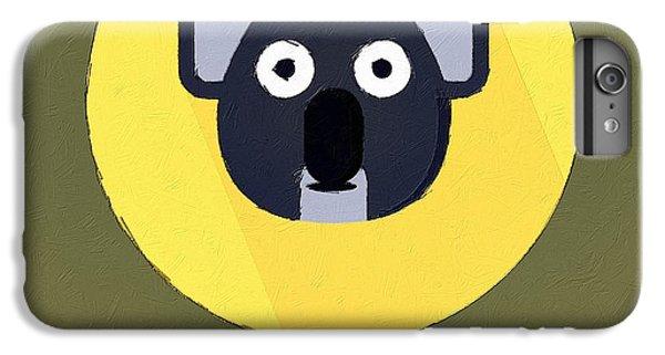 The Koala Cute Portrait IPhone 6s Plus Case by Florian Rodarte