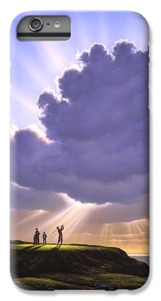 The Legend Of Bagger Vance IPhone 6s Plus Case by Jerry LoFaro
