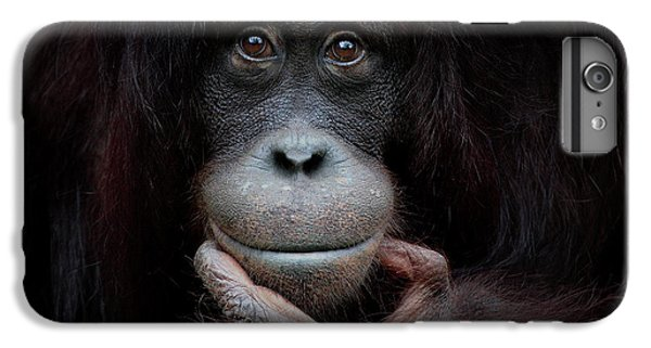 Ape iPhone 6s Plus Case - The Mirror Image by Antje Wenner-braun
