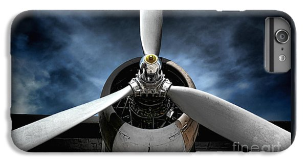 Airplane iPhone 6s Plus Case - The Mission by Olivier Le Queinec