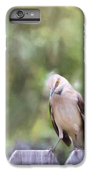 Mockingbird iPhone 6s Plus Case - The Mockingbird by David and Carol Kelly