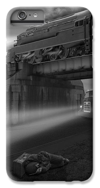 Buzzard iPhone 6s Plus Case - The Overpass by Mike McGlothlen