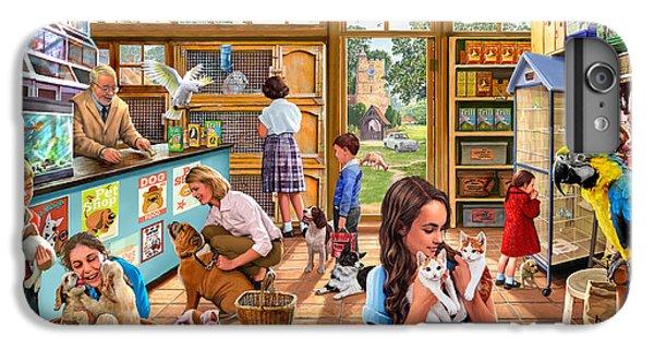 Canary iPhone 6s Plus Case - The Pet Shop by Steve Crisp