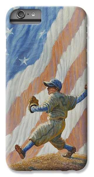 Babe Ruth iPhone 6s Plus Case - The Pitcher by Gregory Perillo