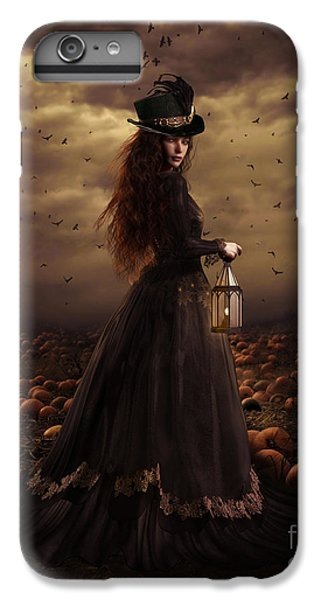 Raven iPhone 6s Plus Case - The Pumpkin Patch by Shanina Conway