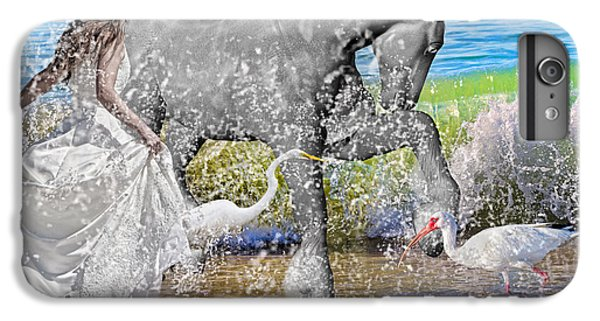 Ibis iPhone 6s Plus Case - The Sea Horse by Betsy Knapp