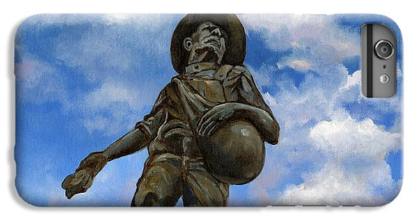 Oklahoma University iPhone 6s Plus Case - The Seed Sower by Linda Dunbar