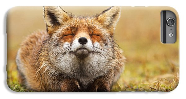 Fox iPhone 6s Plus Case - The Smiling Fox by Roeselien Raimond