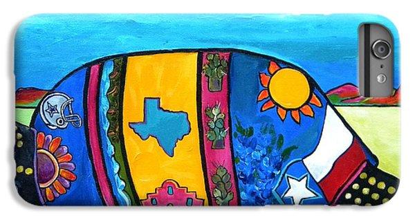The Texas Armadillo IPhone 6s Plus Case