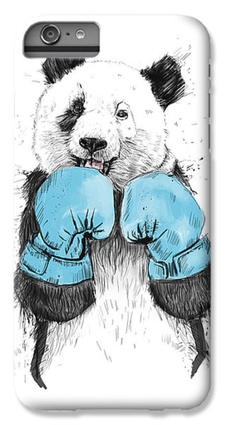 Animals iPhone 6s Plus Case - The Winner by Balazs Solti