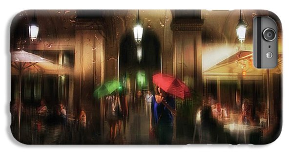 Umbrella iPhone 6s Plus Case - There Is Something In The Rain... by Charlaine Gerber