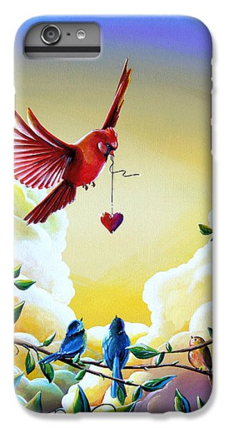 Chickadee iPhone 6s Plus Case - This Heart Of Mine by Cindy Thornton