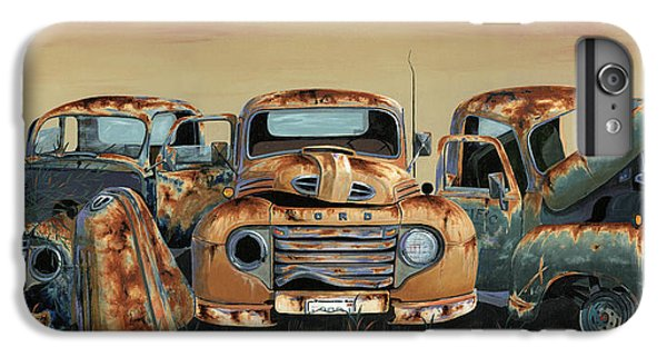 Truck iPhone 6s Plus Case - Three Amigos by John Wyckoff