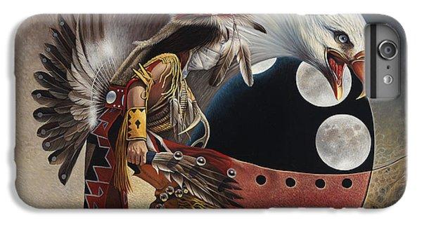 Three Moon Eagle IPhone 6s Plus Case by Ricardo Chavez-Mendez