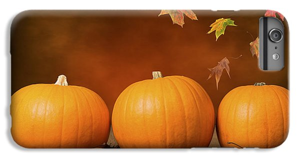 Three Pumpkins IPhone 6s Plus Case by Amanda Elwell