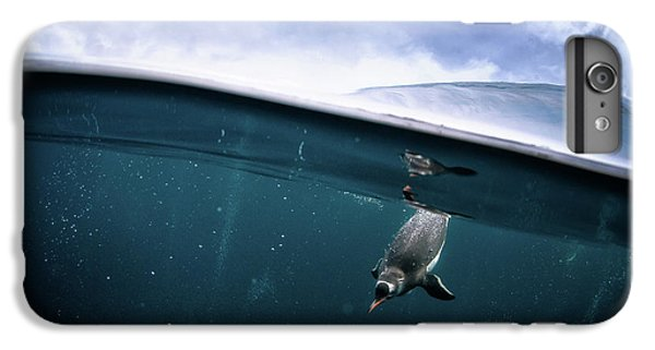 Penguin iPhone 6s Plus Case - Through The Interface by Justin Hofman