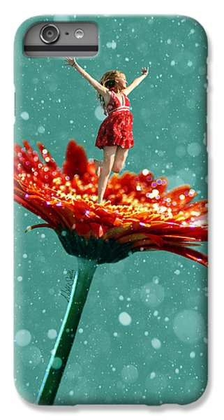 Fairy Dust iPhone 6s Plus Case - Thumbelina All Grown Up by Nikki Marie Smith