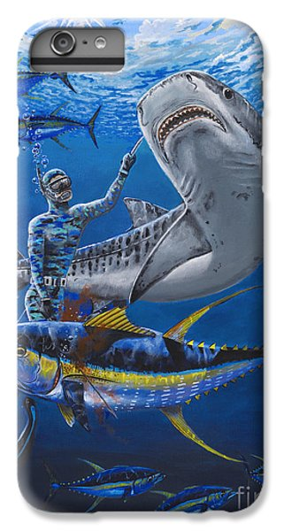 Tiger Encounter IPhone 6s Plus Case by Carey Chen