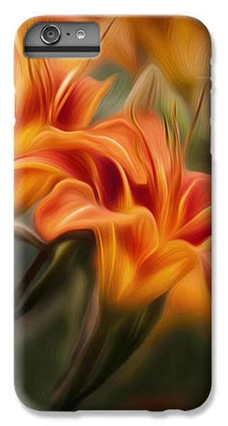 Tiger Lily IPhone 6s Plus Case by Bill Wakeley