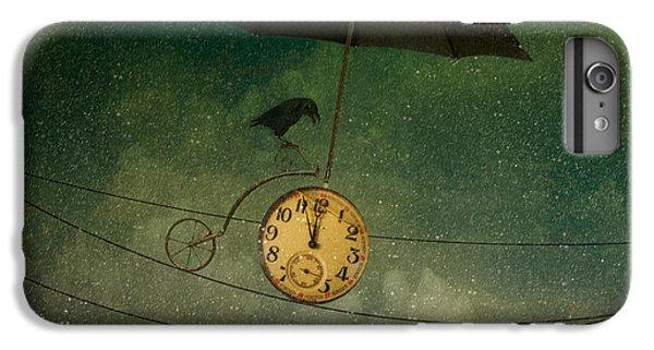 Umbrella iPhone 6s Plus Case - Timekeeper by Svetlana Melik-nubarova
