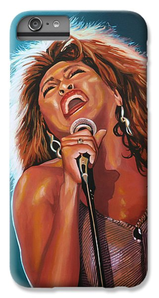 Rhythm And Blues iPhone 6s Plus Case - Tina Turner 3 by Paul Meijering