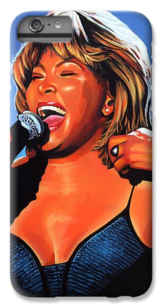 Rhythm And Blues iPhone 6s Plus Case - Tina Turner Queen Of Rock by Paul Meijering