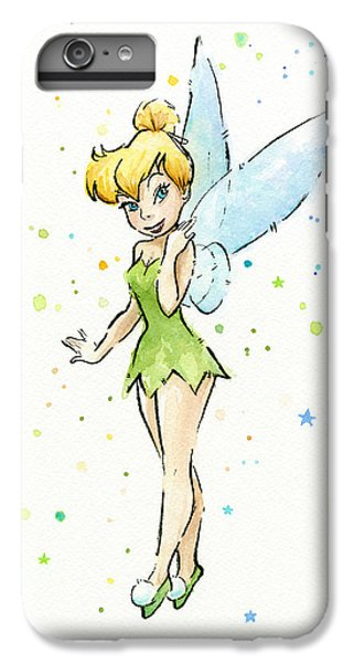 Fairy iPhone 6s Plus Case - Tinker Bell by Olga Shvartsur