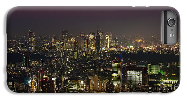 Tokyo City Skyline IPhone 6s Plus Case by Fototrav Print