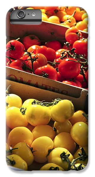 Tomatoes On The Market IPhone 6s Plus Case by Elena Elisseeva